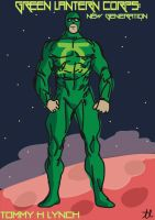 Green Lantern Drawing by blugoon