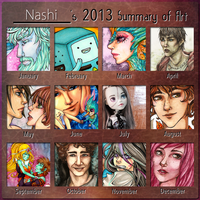 Nashi Art Summary 2013 by Nashimus