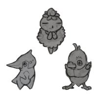 Fakemon Ideas by HourglassHero