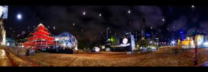Fed Square at Night by WiDoWm4k3r