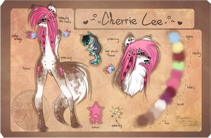 :Cherrie Lee reference 2013: by Cherry-Butt