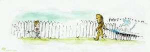 we left quite a trail... by koosh-llama