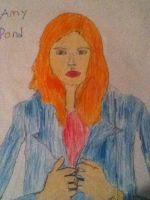 Amy Pond Drawing by Violetclaw