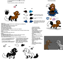 Inkspill And Kni Reference Sheet 2012 by InkSheWolf