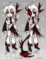 OfferToAdopt24(CLOSED)RozenDemon by Rofeal