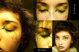 Fantasy Earth Inspired Makeup by CrazyPicChick
