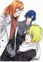 Ren, Tokiya, Syo - Winter by Miya-chan1000
