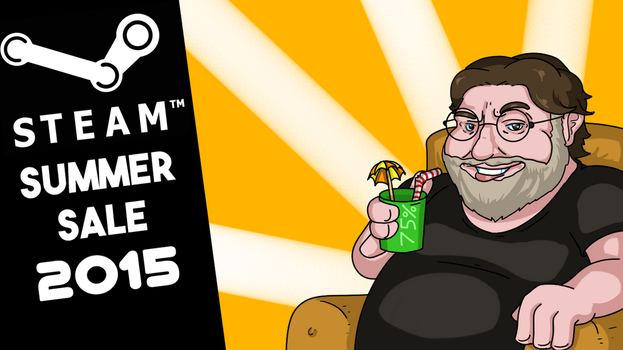[Thumbnail] Steam Summer Sale 2015 by Memoski