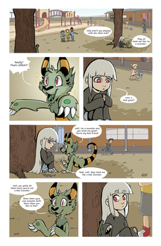 Amelia Monster page 4 by TalaSeba