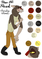 Preed - Character sheet by StanHoneyThief