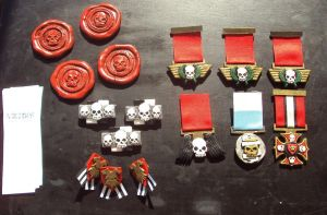 Imperial Guard Medals and Ribbons and Purity Seals by DefenderHecht