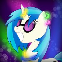Vinyl Scratch by Bratzoid