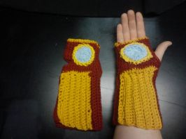 Iron Man Armwarmers by AbstractAttic
