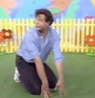 GIF: Philip Quast on Play School by ThreshTheSky