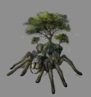 Land Spider Concept by Istebrak