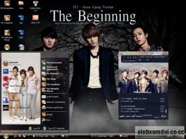 JYJ Theme for XP by vinhxomdoi