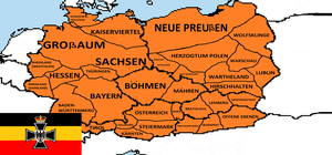States of the Central German Empire (REDUX) by wolfmoon25