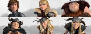 HTTYD2 Riders by Frie-Ice