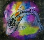 Space Koi by lifanonline