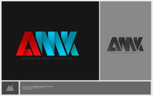 AMK logotype by melongray