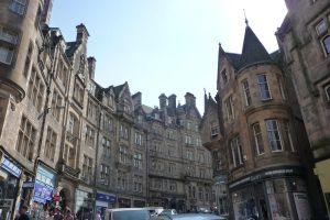 March up to the Royal Mile by Bakanishi