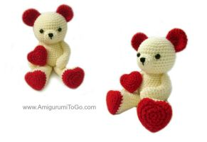 Valentine Teddy Bear by sojala