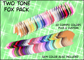 Two Tone Fox Pack by BellaMbrianna