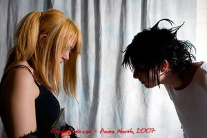 Death Note Misa vs L by icevalkyrie7
