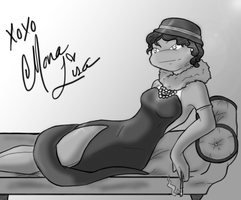 Old Movie Mona by musable