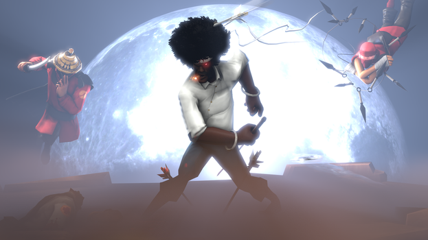 Afro Demoman by PuzzlerDK