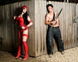 Elektra Shoot 3 by Meagan-Marie