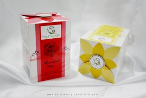 flower tea packaging design 1 by derrickfong