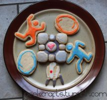 Portal Cookies by littlemissysg