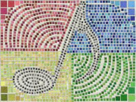 Musical Mosaic by AJD08