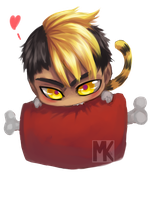 Chibi Gereon by BloodnSpice