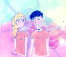 Percabeth by f-innick