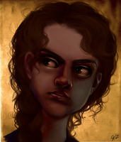 Deathly Hallows Hermione by greendesire