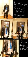 Mr. Foster Killing floor costume :D by BurstingTheSeams