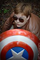 Steve - Captain America Cosplay by DonationForPlushies
