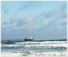 Blue sky , aqua  waves ,  surfer boys  and  Rubys by ANGELICA-LILY
