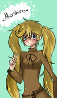 iScribble AT: Moshiro by milkie-nommi