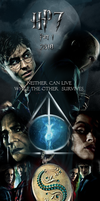 Harry Potter and the Deathly Hallows Poster by drkay85