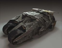 Batmobile V.2 by SinAngelX