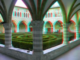 Perugia 5 3D Anaglyph by yellowishhaze
