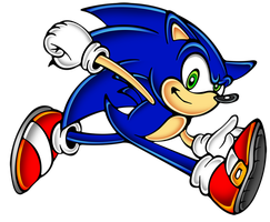 the second sonic is... by megax88