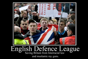 EDL Demotivator by Party9999999