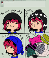 Le Hats by Ask-Fanny