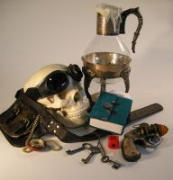 Steampunk StillLife 4 by kerisugi