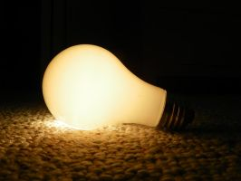 Unscrewed Light Bulb Trick by atkinsonian2