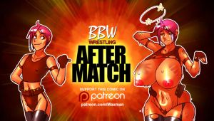 After Match - BBW Wrestling by maxmam